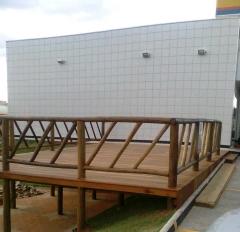 Decks com estrutura reforÇada