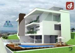 Casa em construção no nações residence privê