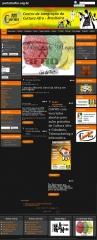 Site criado para ong ciafro http://portalciafro.org.br/