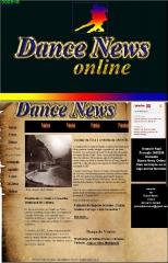 Site criado para jornal dance news  http://www.jornaldancenews.xpg.com.br/