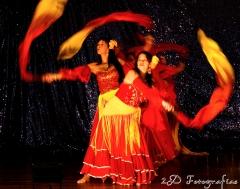 Uma de muitas fotos da área  de dança