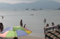 Praia próxima ao residencial