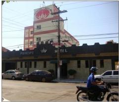 Fachada do principe hotel de araçatuba