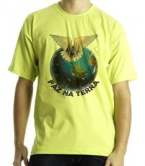 Camiseta estampa tema evangèlica terra