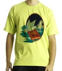 Camiseta estampa tema evangélica farol