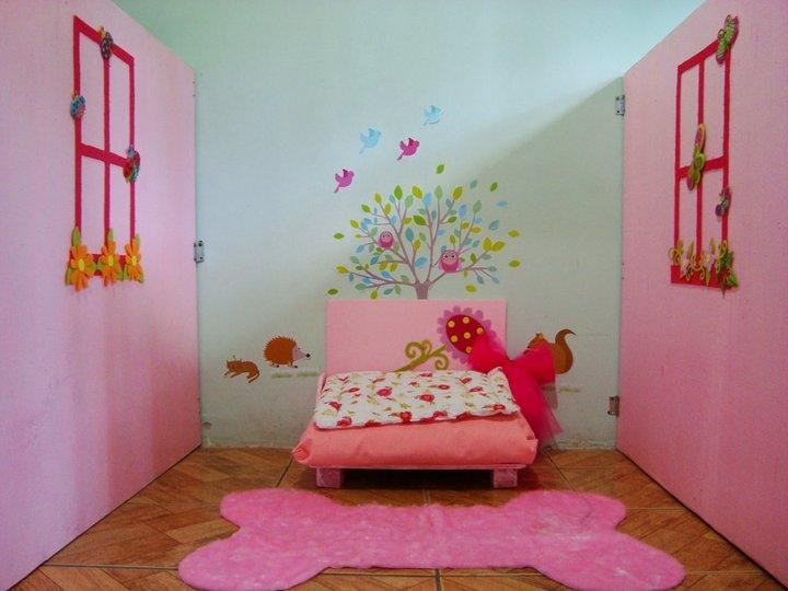 Foto quarto rosa! ~ Quarto Verde Limao E Rosa