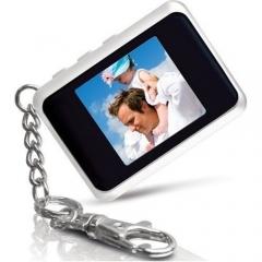 Chaveiro porta-retratos digital com tela lcd 1,5 polegadas - veja outros modelos com diversos tamanhos e funções  ...