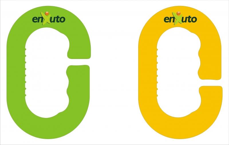 Enxuto Supermercados - Logomarca