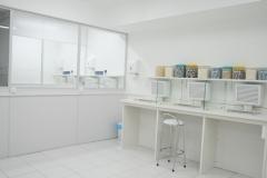 Laboratórios especiais para hormônios e antibióticos