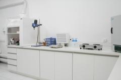 Modernas instalações do laboratório de Semi-sólidos e de líquidos