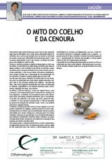 Artigo - Dr Marco Olyntho - O mito do coelho e da cenoura