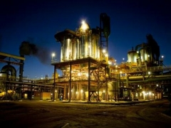 Usina eth bioenergia a noite