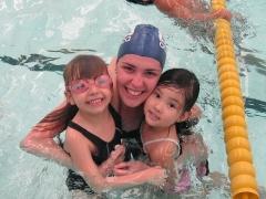 Cursos de natação infantil