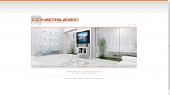 Web site personalizado em flash