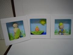 Quadros para decoração de quarto infantil, apartir de r$ 50,00
