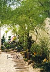 Paisagismo -  caminhos de jardim
