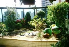 Paisagismo - jardim em varanda de apartamento