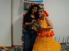 Vestido balloon / estilista etsu flores/ baloes pic pic