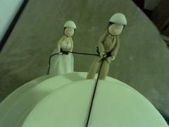 Noivinhos, topo de bolo apartir de r$80,00