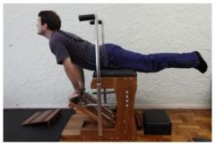 Exercícios nos aparelhos - pilates na carioca