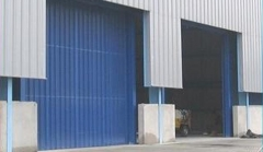 Portas industriais - serralheria santa clara