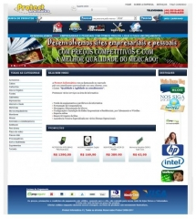 Site em e-commerce totalmente administravel