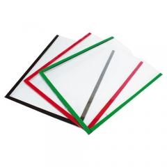Calhas acrílicas com manta magnética ou fita dupla face