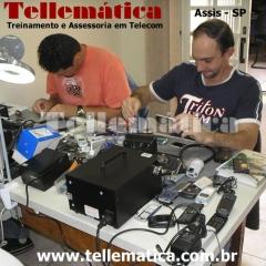 Aula pr�tica - curso manuten��o celular - assis - sp