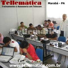 Aula pr�tica - curso manuten��o celular - marab� - par�