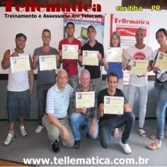 Turma de formando curso manutenção celular - Curitiba - Paraná