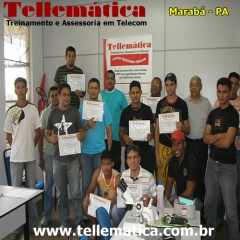 Turma de formando curso manutenção celular - Marabá - Pará