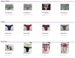 Vê lingeries - grande variedade de produtos