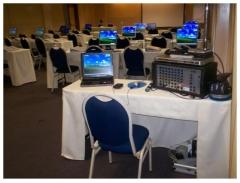 Loca��o de equipamentos audiovisuais e de inform�tica para eventos