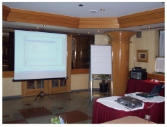 Locação de equipamentos audiovisuais e de informática para eventos