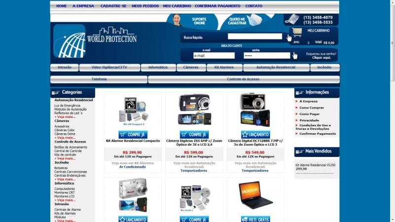 Loja Virtual ASP - Super Loja personalizada
