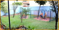 Area de recreação