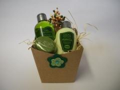 Kit perfumaria embalagem reciclável