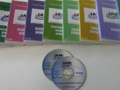 Coleção de 20 CDs - Curso de Português