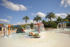 Playground aquático infantil