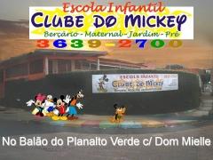 Fachada clube do mickey