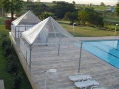 Allan pirâmides - tendas