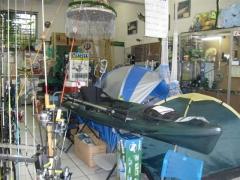 Imagens da loda, produtos para camping.
