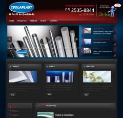Site da www.isolaplast.com.br criado e hospedado por powerhertz