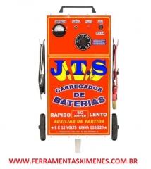 Carregador de bateria 50 a jts carregadores carrinho