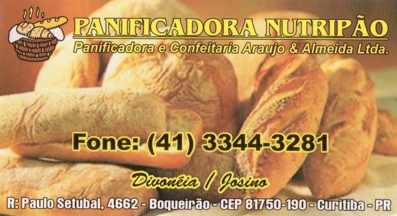 PANIFICADORA NUTRIPÃO