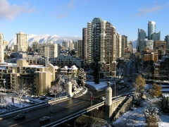 Intercâmbio high school: vancouver snowfall canadá (foto/image)