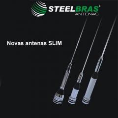 Antenas px móvel slim - steelbras