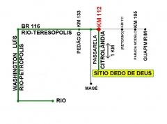 50 minutos do rio - km 112 da estrada rio-teresopolis - bairro citrolandia