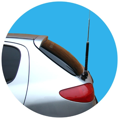 Suporte para antena px - Veículos leves