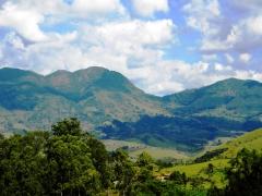 Montanhas do bairro dos serranos
